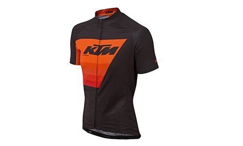 KTM Factory Line Renntrikot  S orange